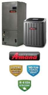 Ton 16 Seer Amana Heat Pump System   ASZC160241   AVPTC31371