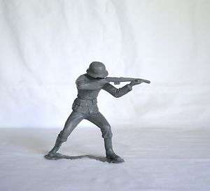 Soldier Military Army Figure Plastic Childs Toy World War II