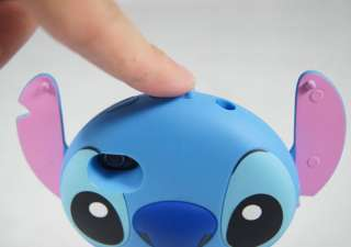 Iphone4 4S 3D Case Cover Skin Movable Ear Disney Lilo Stitch Cartoon