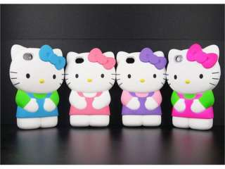 2012 lastest 2in1 3D for Hello Kitty Figure cute Character Hard Case