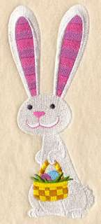FUNKY EASTER BUNNY Better Quality Embroidered Hand Towels   1 or 2