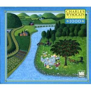 Charles Wysockis American 1,000 Piece Jigsaw Puzzle