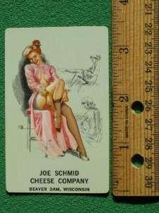 PLAYING CARDS SKETCHBOOK ART PINUP GIRLS BEAVER DAM WISCONSIN JOE