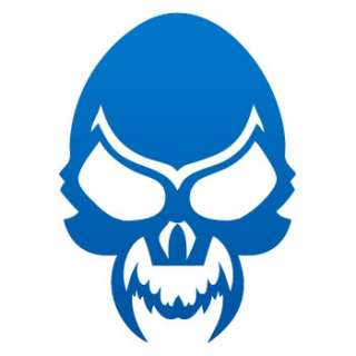Helmet Decal Sticker Skull Car Window ZE5W9