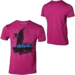 Troy Lee Designs Loco Town T Shirt   X Large/Purple