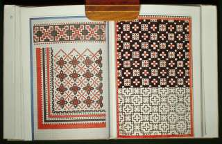 BOOK Slovak Folk Textiles ethnic weaving & embroidery pattern design