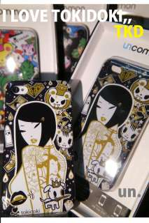 TKDK Tokidoki x Uncommon Hard Case Cover for iPhone 4 4S #3 Donut Girl