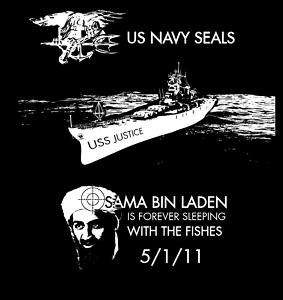 11 Osama Bin Laden Navy Seal USA T Shirt Tee Death