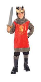 CRUSADER KING KNIGHT boys kids halloween costume S 4 6
