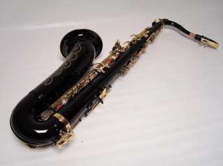 Professional Black Gold Tenor Saxophone Sax Brand New