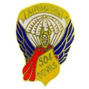 U.S. Army 504th Airborne Infantry Division Pin 1 Arts