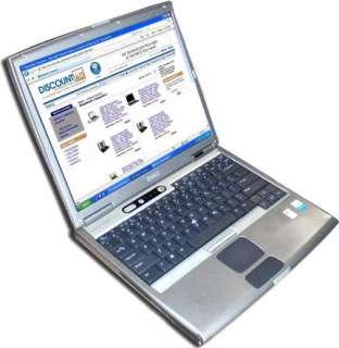 Dell Latitude D500 Laptop PM 1.3GHz 40GB Combo WiFi XPP