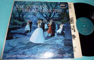 Ray Anthony Plays For Dream Dancing Capitol LP NICE