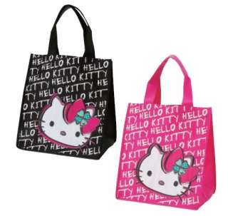 Sanrio Hello Kitty Reusable Shopping Bag  Logo(Pink)