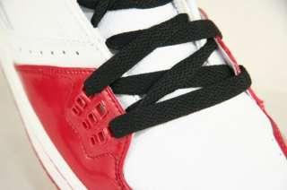 NIKE JORDAN 1 FLIGHT Mens Red White Shoes Size 10.5