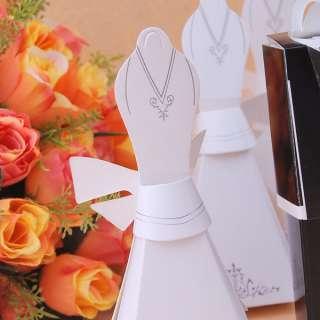 24 pcs TUXEDO & DRESS(Groom bridal)Wedding Favor Boxes Gift