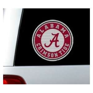 Alabama Crimson Tide Die Cut Window Film Sports
