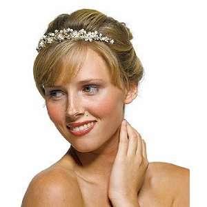 in Antique Gold Garden Wedding Bridal Tiara