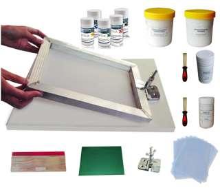 Silk Screen Printing DIY Hobby Kit Home Silk Screening T shirt Screen