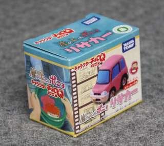 Risa Car Choro Q Mini Figure Ponyo on Cliff Takara Tomy