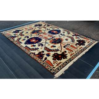 9ft x 12ft Turkish Hand Knotted Wool Rug  SALE