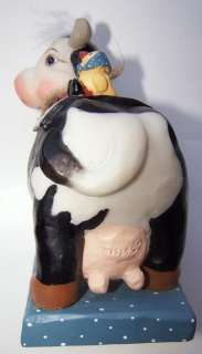 EC LOVE KRISTIN BETSY AND ROSS BEST FRIENDS Cast Art Industries Cow