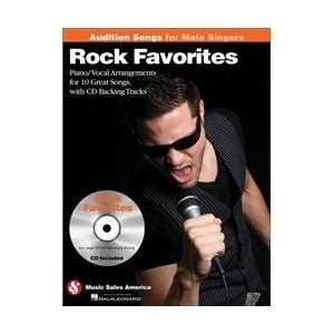 Rock Favorites   Audition Songs for Male Singers   Book
