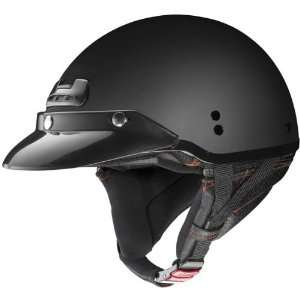 Nolan Super Cruise Open Face Motorcycle Helmet   Black