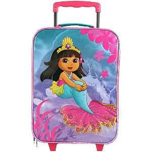 Dora The Explorer Rolling Luggage Case Toys & Games