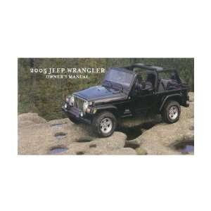 Owners jeep wrangler 2005 manual pdf