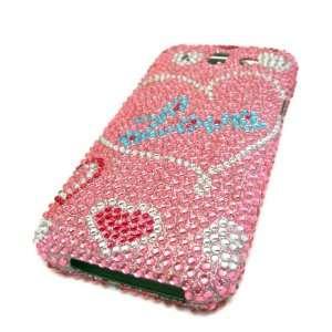 Huawei Honor U8860 Mercury Glory M886 Pink Love Heart
