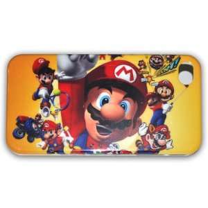 Super Mario Bros Hard Case for Apple Iphone 4g/4s Ib066b