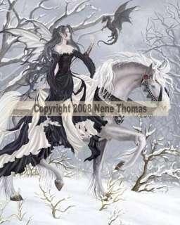 Chance Encounter Fairy Fantasy Art Nene Thomas Mousepad