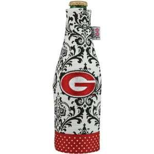 Georgia Bulldogs Black Wallpaper Canvas 12oz. Bottle