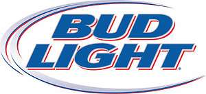 BUD LIGHT Vinyl Decal Sticker 18 wide FULL COLOR Style2