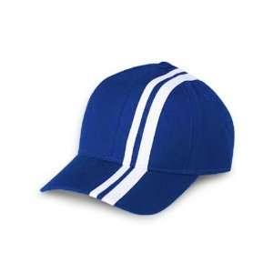 RACING STRIPE ROYAL/BLACK HAT CAP HATS