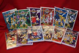 MEDABOTS COMPLETE COLLECTION 12 DVDs ***NEW***