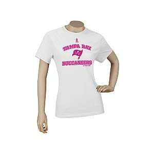 Reebok Tampa Bay Buccaneers Breast Cancer Awareness Womens Ribbon