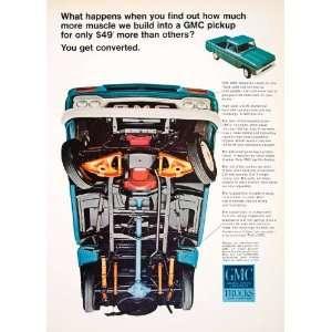 Ad GMC Trucks Car Automobile Pickup General Motors Vehicle Chassis Cab