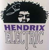 MINIATURE ~ JIMI HENDRIX ELECTRIC VODKA   Collectible