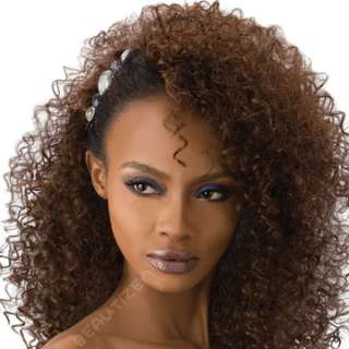 Outre Quick Weave Long Curly Half Wig EVONY