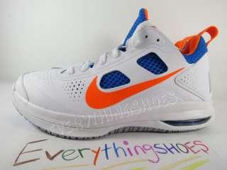FS Nike Air Max Dominate XD White Orange Blue Mens Basketball Shoes