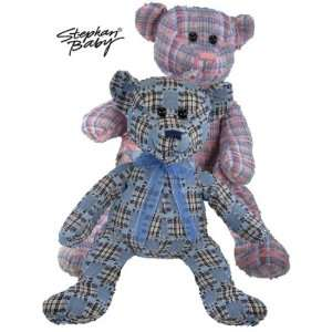 Pink Tattered Teddy Bear Plush Heirloom Toy Toys & Games
