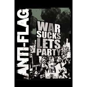 Anti Flag War Sucks Magnet M 1712: Kitchen & Dining