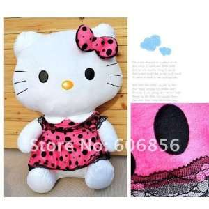50cm purple color hello kitty plush toys sanrio doll for
