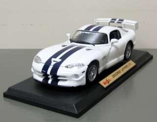 Dodge Viper GT2 Diecast Model Car   Maisto   118 Scale   New in box