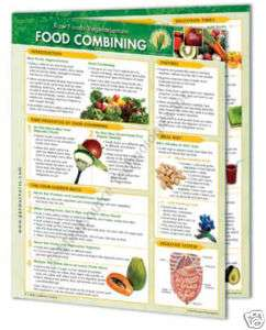 Raw Foods Vegetarianism – Food Combining Info Chart