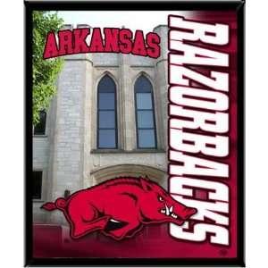Arkansas Razorbacks UA NCAA Basketball 8 X 10 Framed