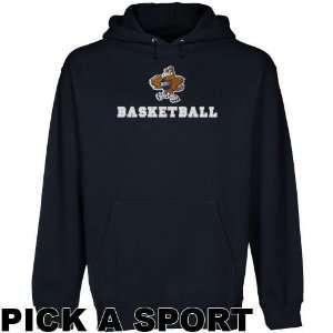 Oral Roberts Golden Eagles Navy Blue Custom Sport Logo
