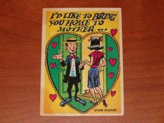 Topps 1959 Funny Valentine #25 Card Jack Davis Art